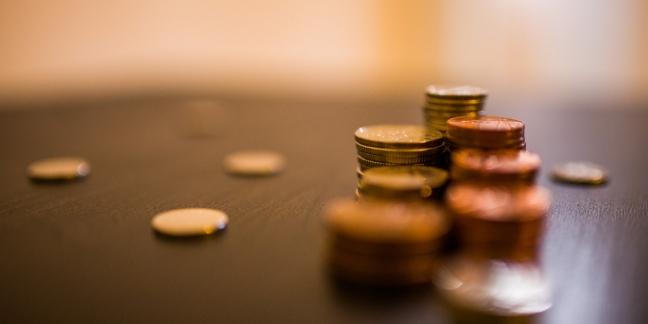 Pequeñas cantidades de dinero